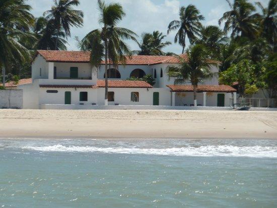 Pousada Chez Roni : pousada vue de la mer