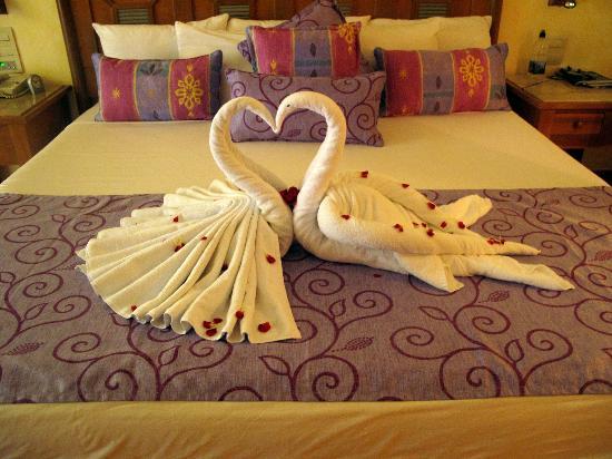 Iberostar Paraiso Lindo: towel art!