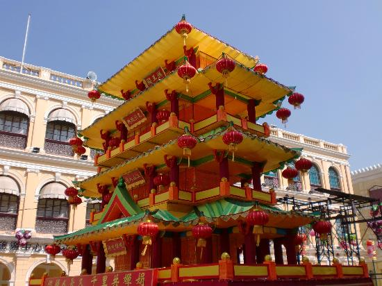 Tour around the island of Macau: festival of the 15th day of the 8th moon
