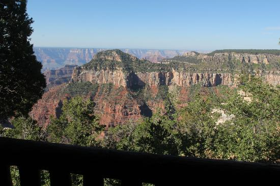 Grand Canyon Lodge - North Rim : from our porch in cabin 306