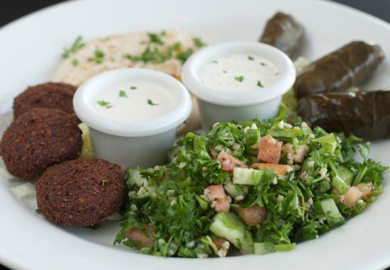 Olive Tree Restaurant : Vegetarian Platter