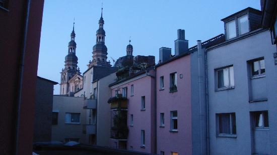 City Hotel Schönleber: Vista despejada