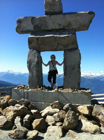 Whistler Blackcomb: At the summit - Whistler Mountain
