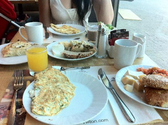 Queen of Sheba Eilat: a part of our breakfast