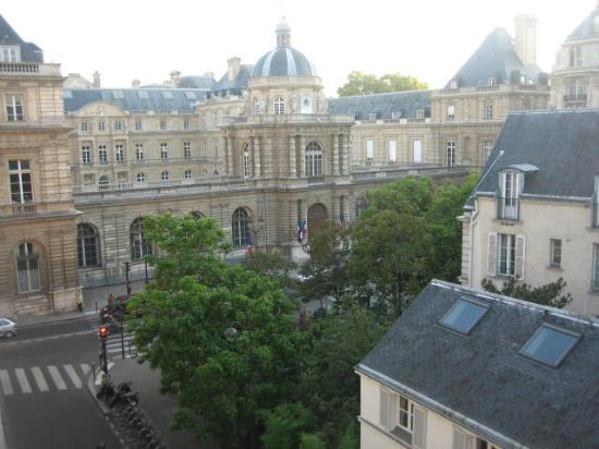 Hotel Michelet Odeon: View from our room