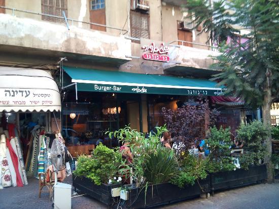 Agadir Burger: Exterior of bar