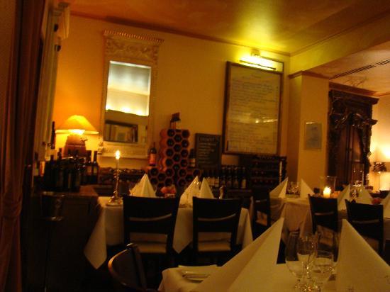 Ristorante Da Damiano: Da Damiano. You can see the menu board, on the right.