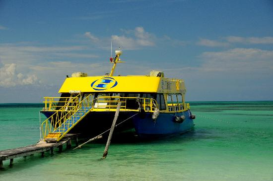 Isla Pasion: The Catamaran