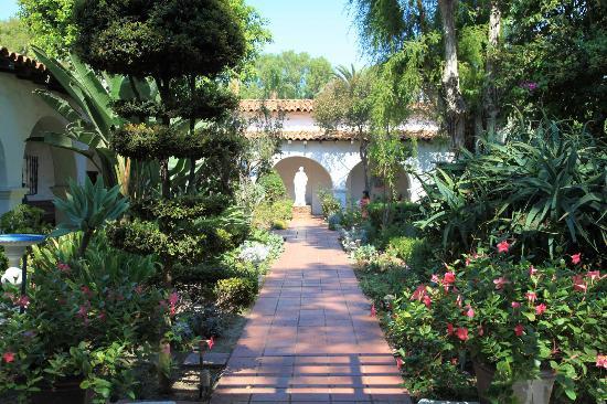 Garden Picture Of Mission San Diego De Alcala San Diego
