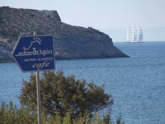 Dolphin St. Georgio Villas & Suites: breakfast view