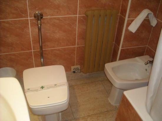 Hotel Rio Arga: bagno