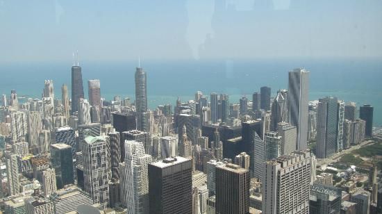 Skydeck Chicago   Willis Tower: View From The 103rd Floor Of The Willis  Tower