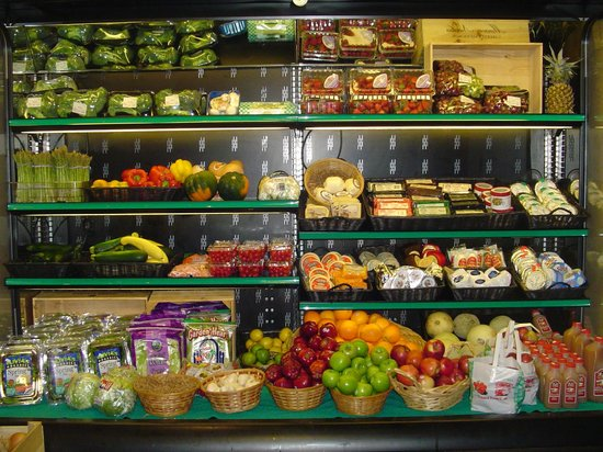 Partridge in a Pantry Deli: Produce.