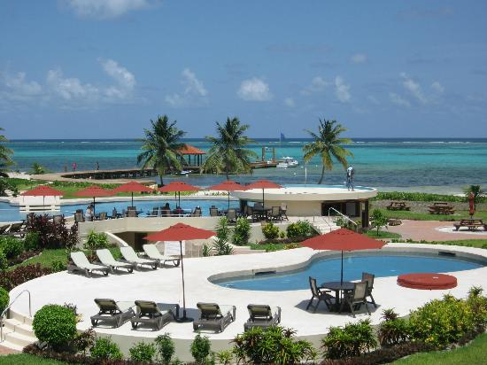 ‪‪Grand Caribe Belize Resort and Condominiums‬: view from balcony