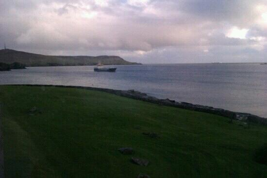 The Lerwick Hotel: view from bedroom