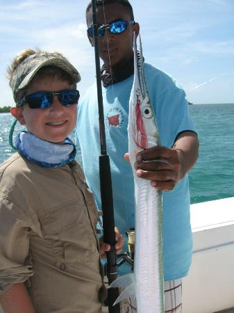Grand Caribe Belize Resort and Condominiums: more fishing!