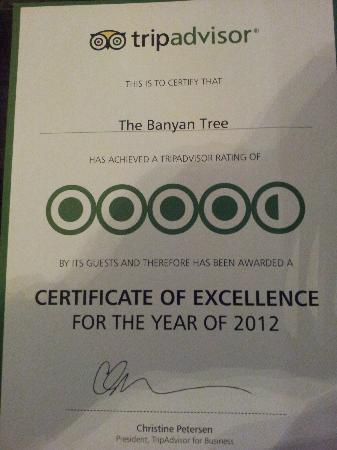 The Banyan Tree: Consistently excellent