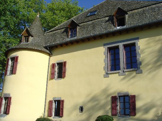 Hotel du Chateau de Salles : côté piscine