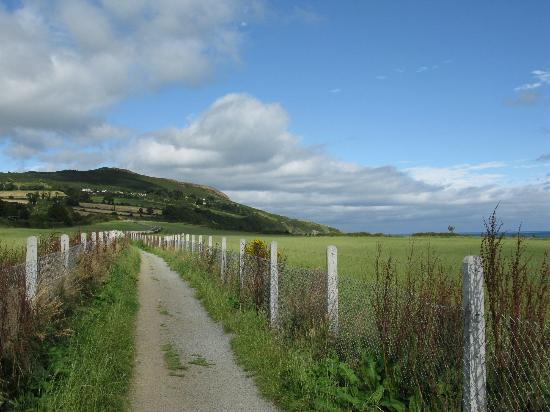 The Bray to Greystones Cliff Walk: At the Greystones end of the walk