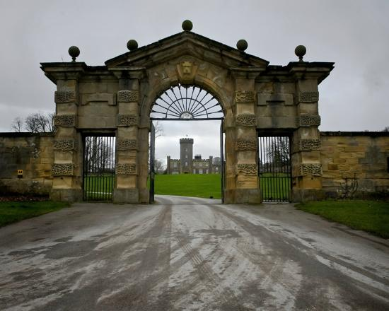 Swinton Park Country Club and Spa: main gates
