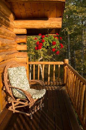 Wildflower Lodge at Jackson Hole: Balcony off my room