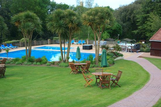 Westhill Country Hotel: pool and part of the huge garden