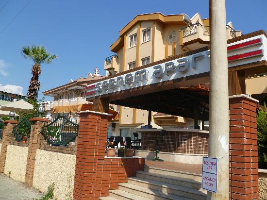 Sebnem Apart Hotel Front