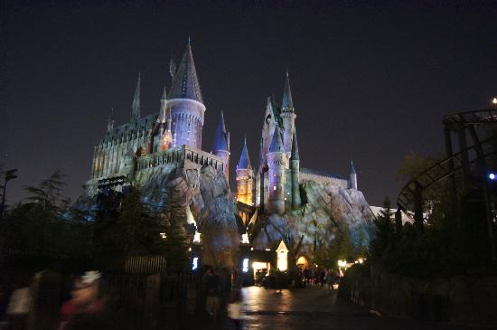 The Wizarding World of Harry Potter: Castelo a noite