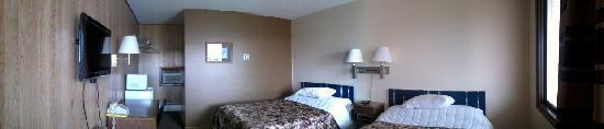 Leonard Motel: A standard double room