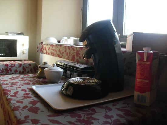 Mas Trobat: nos preparabamos cafe buenisimo.