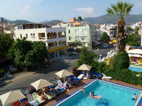 Sebnem Apart Hotel Balcony View