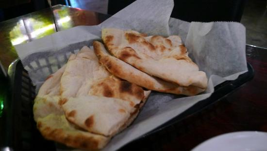 Naan n' Curry - Naan.
