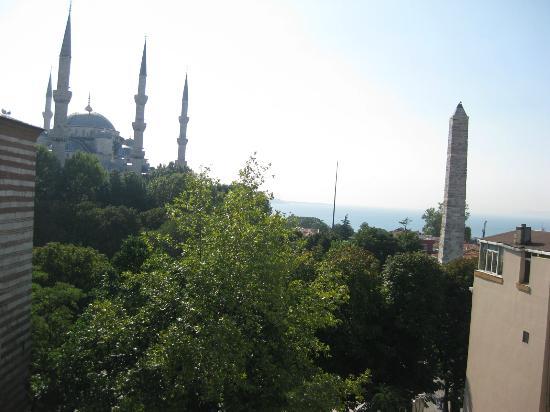 Hotel Turkoman: Vista dal terrazzo della colazione