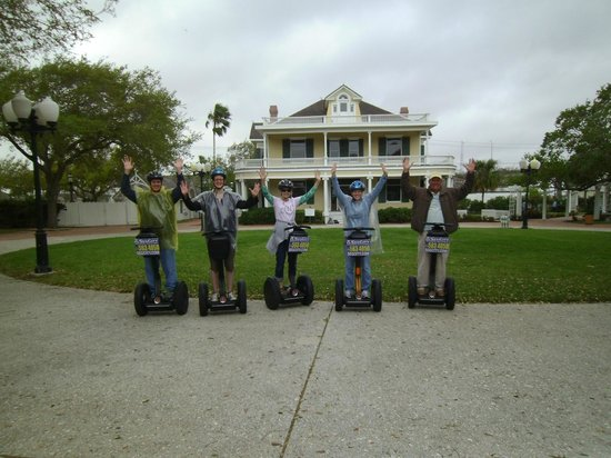 SegCity Guided Segway Tours: Segways and Galvan House