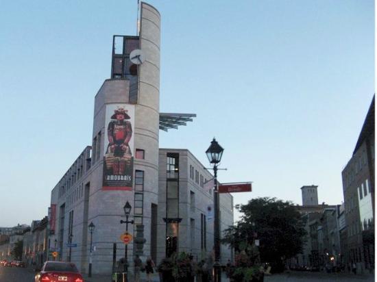 Pointe-a-Callière Museum : The exterior