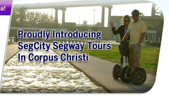 SegCity Guided Segway Tours: Tim and Peg at Water Garden