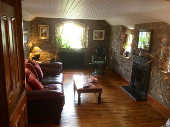 Clenaghans: Sir John Laverty's suite lounge