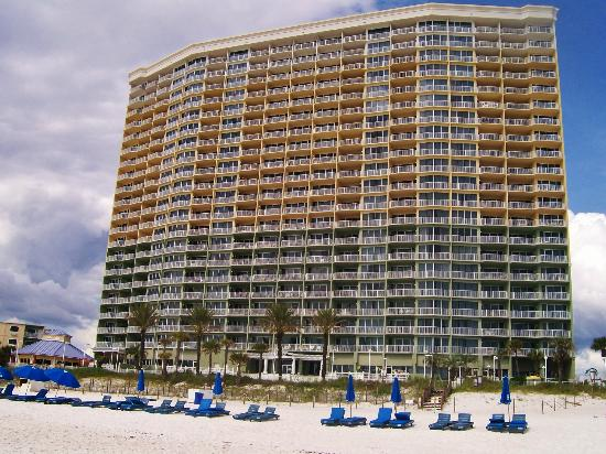 Boardwalk Beach Resort Condominiums: View from beach
