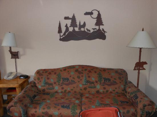 Great Wolf Lodge: sitting area