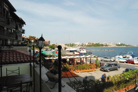 Hotel Stankoff: View from the breakfast room