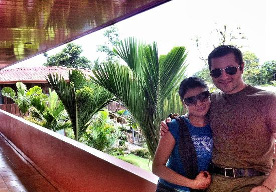 La Choza Inn Hostel : Dentro del hotel...