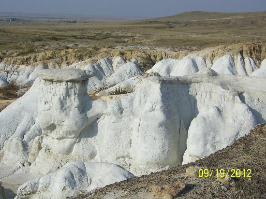 The Paint Mines Interpretive Park: Formations