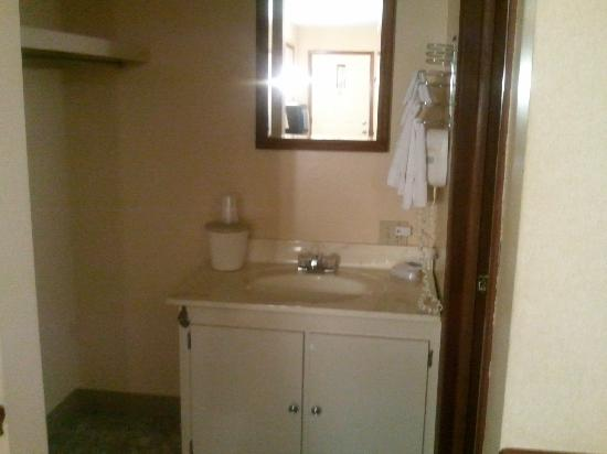 Roscoe Motor Inn: Sink Area