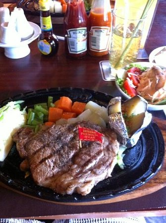 Chokchai Steak House: Ribeye Steak