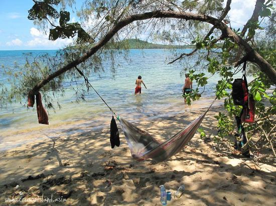 crusoe island beach camping  u0026 bungalows  beachside hammocks beachside hammocks   picture of crusoe island beach camping      rh   tripadvisor in