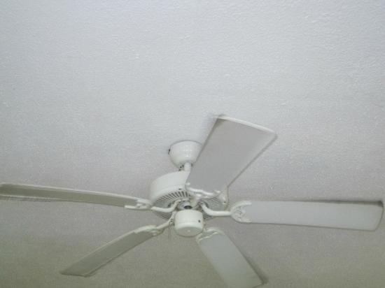 Plantation Beach Villas: Ceiling fan