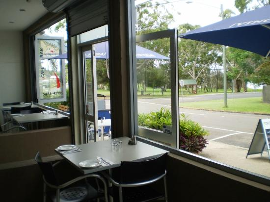 The Black Cockatoo Cafe and Bar: View from the restaurant