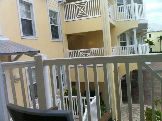 Southernmost Beach Resort: The balcony