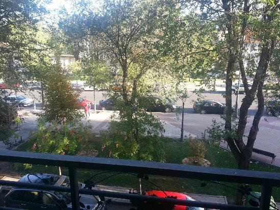 Hotel Jardín de Aranjuez: Vista desde habitación