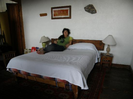 Posada Mandala: me in my room